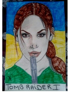 Lara Croft by isabella1988